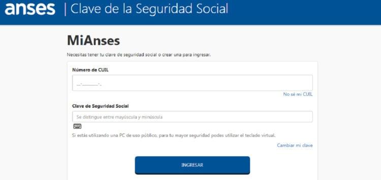 Cómo sacar la clave de seguridad social
