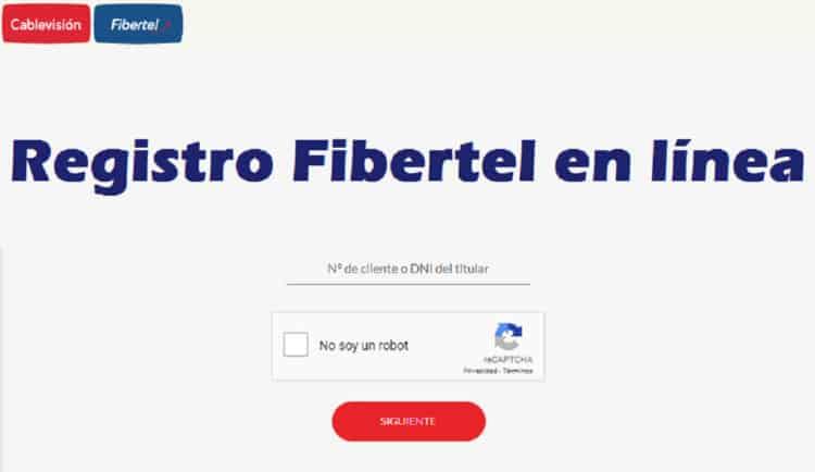 web oficial de Fibertel