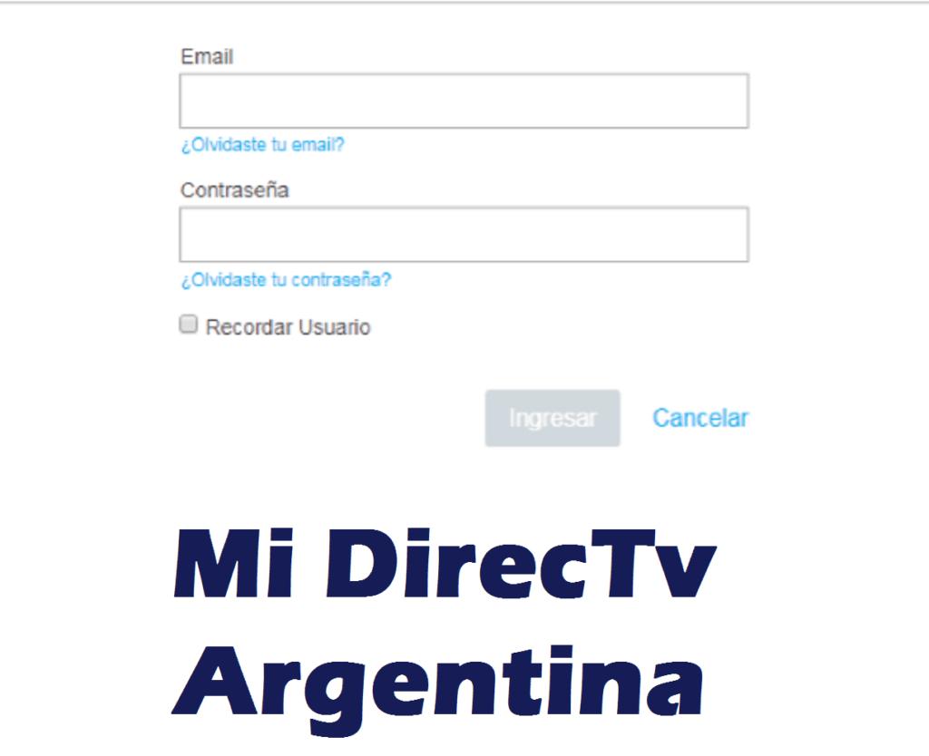 cuenta en MiDirectv